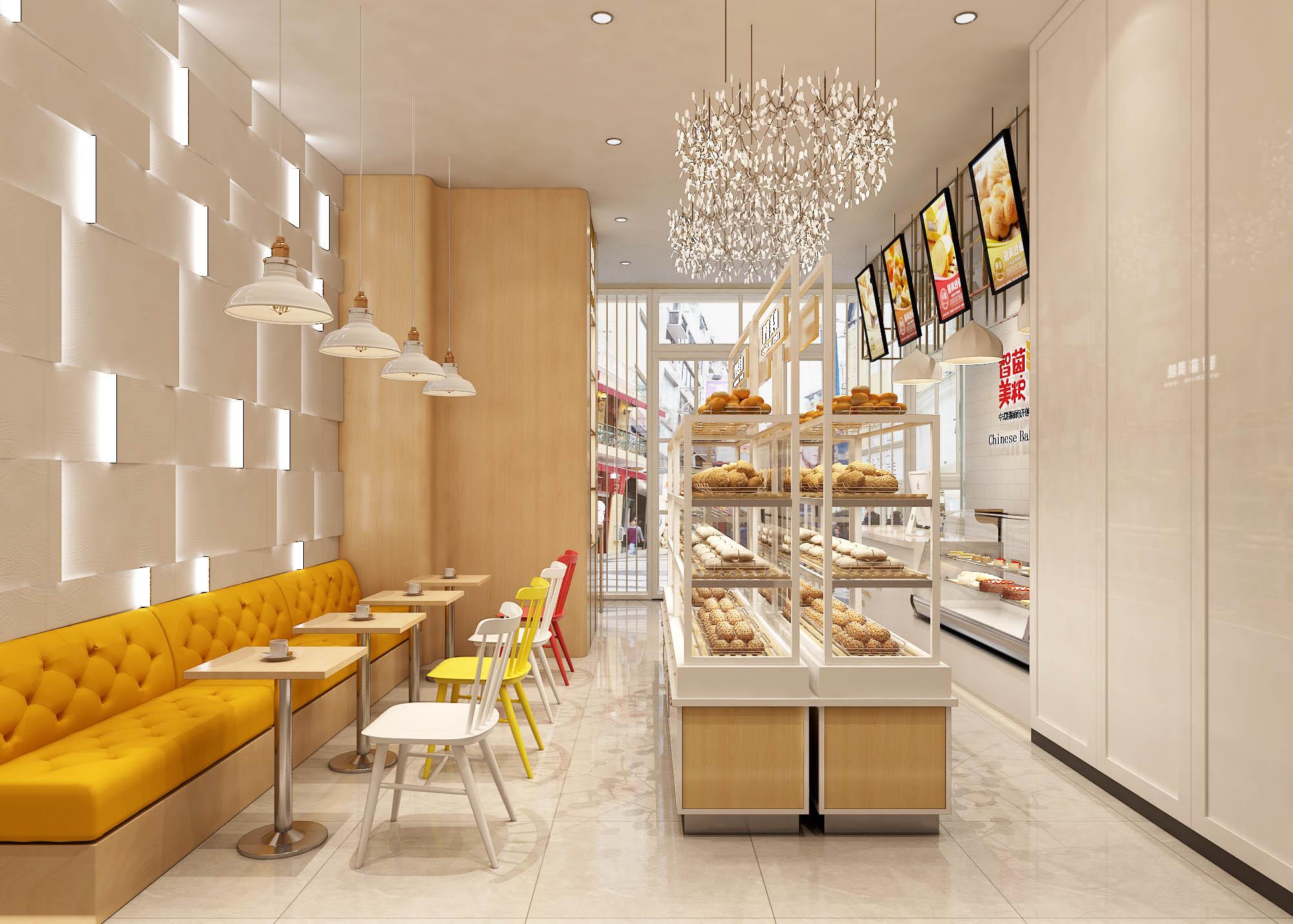 蛋糕店的设计思路