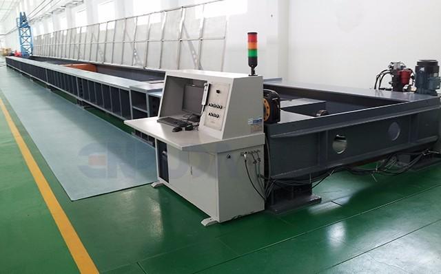 EH-8000W电液伺服卧式拉力试验机