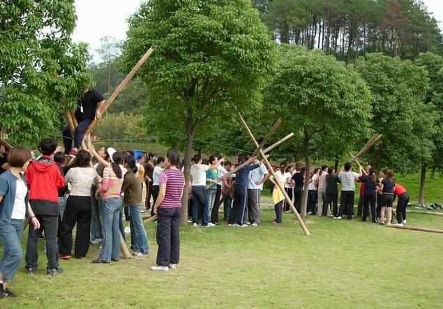 团队执行力拓展项目:越障