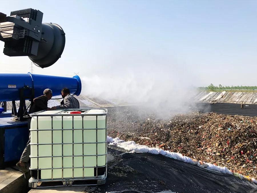 上海最大垃圾填埋场异味除臭受到市民一致好评