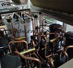 Reverse design of air conditioning reversing valve