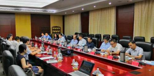 中国国际跨国公司促进会代表团到天津武清区考察交流