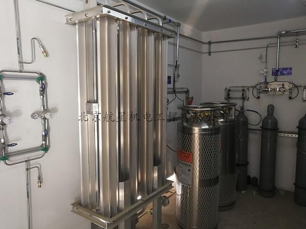 清華大學環境學院實驗大樓實驗室氣體管道項目順利交付