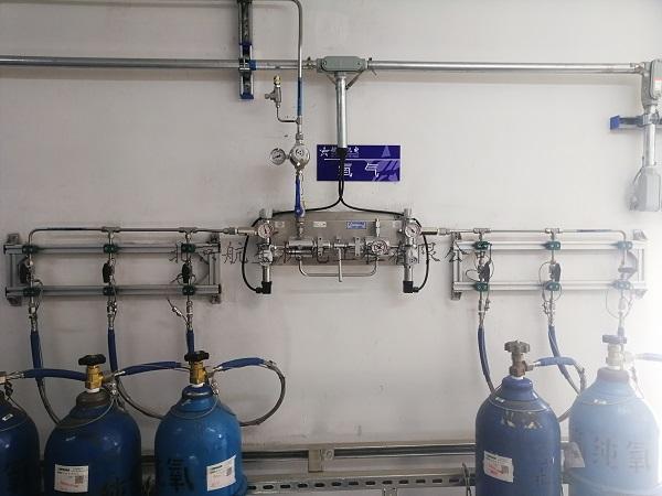 清华大学环境学院实验大楼实验室气体管道项目顺利交付