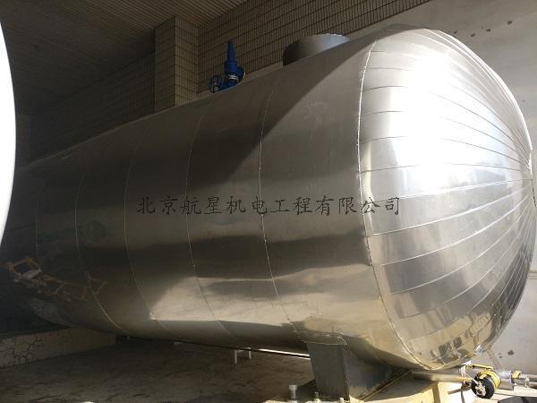 可口可樂壓力容器及管線保溫項目