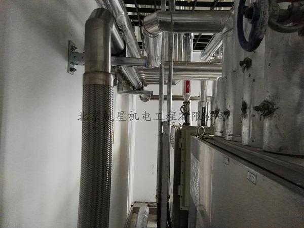 上海医药集团北方药业液氮管道及其它管道工程