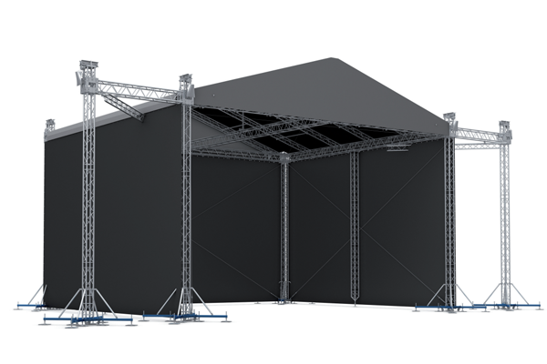 RFT003-Pitched Roof Truss - stage - Royal Kay Industrial Limited
