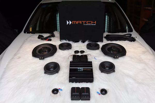 无损改装!宝马3系汽车升级德国MATCH音响 不将就的车生活