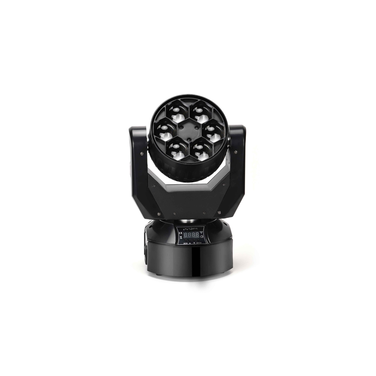 6*15w rgbw 4 in 1 big bee eye led moving head light