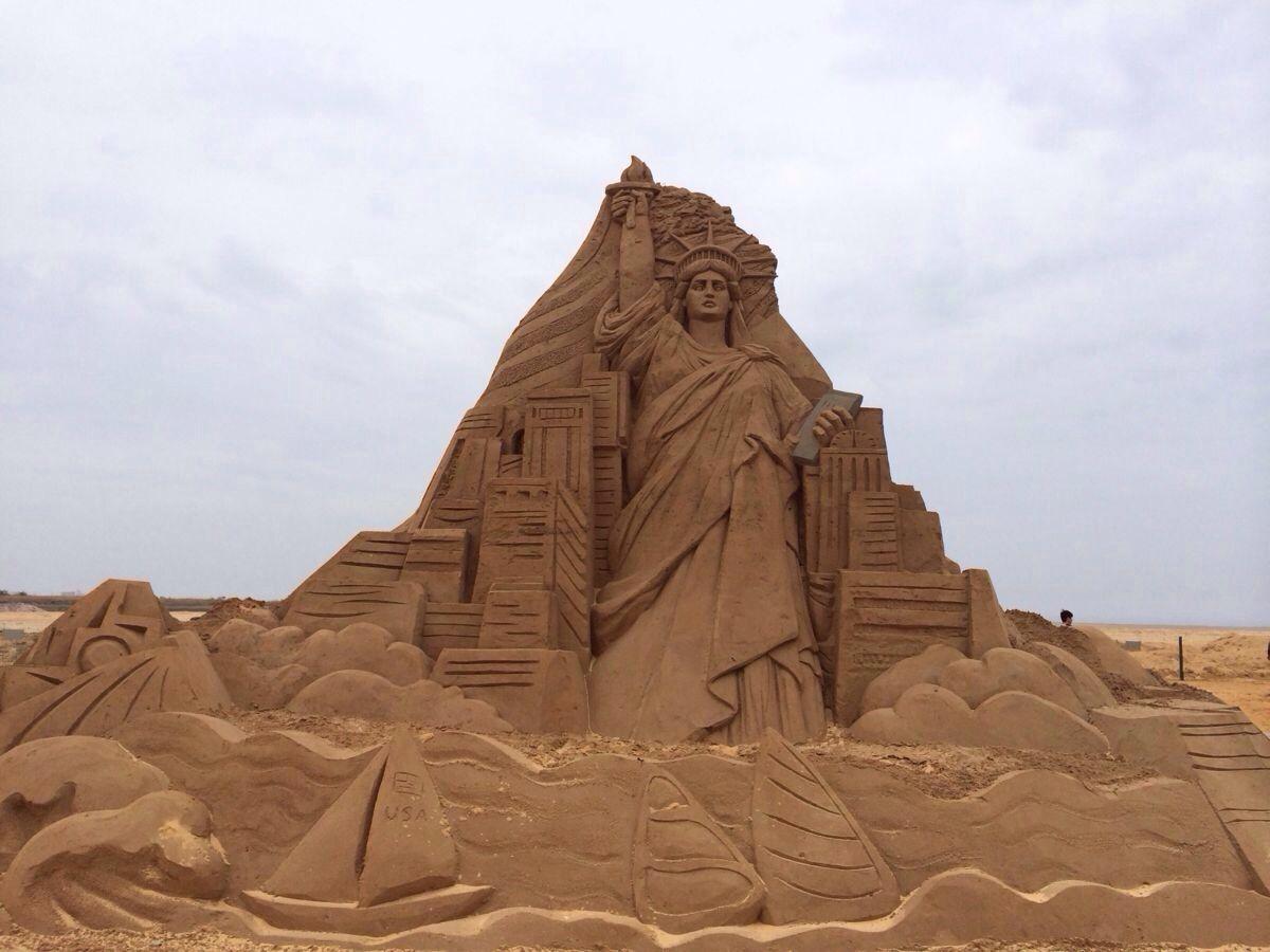 团队拓展训练项目:沙雕