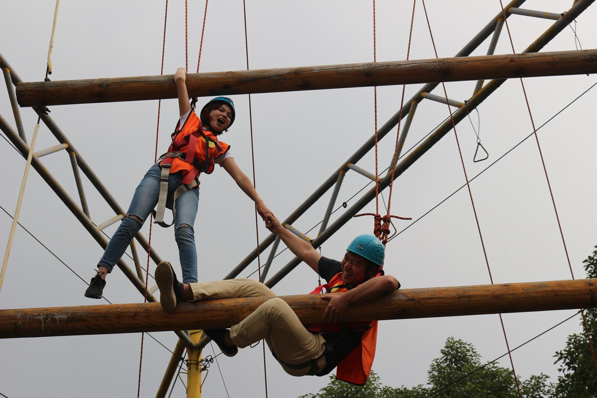 拓展訓練項目天梯