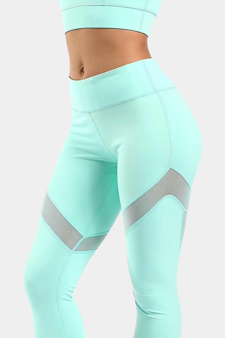 Popular Style yoga Wear Patchwork Fitness Workout Sports High Waist Legging For Women