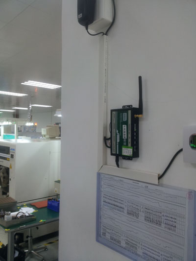 生产线温湿度监控项目