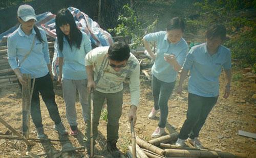 團隊協作拓展訓練項目:野外尋獵