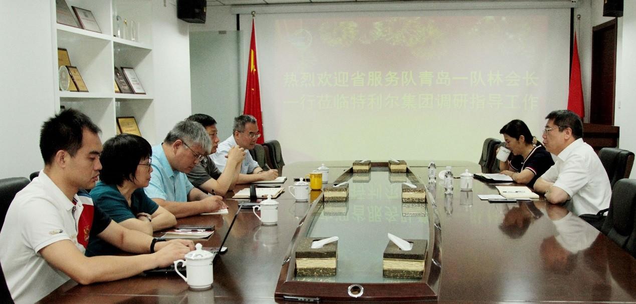 山东省民营企业高质量发展服务队对接福彩3d开机号短讯
