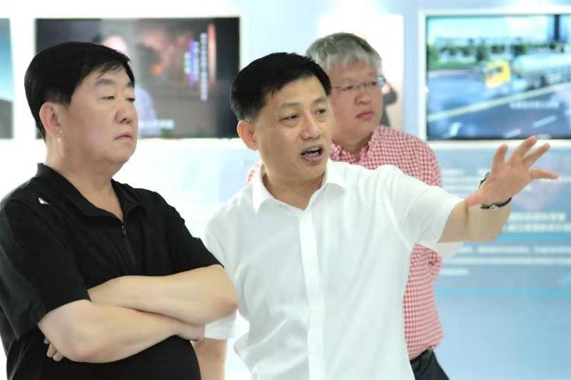 山西省汾阳市市长吴晓东一行到福彩3d开机号环保集团调研