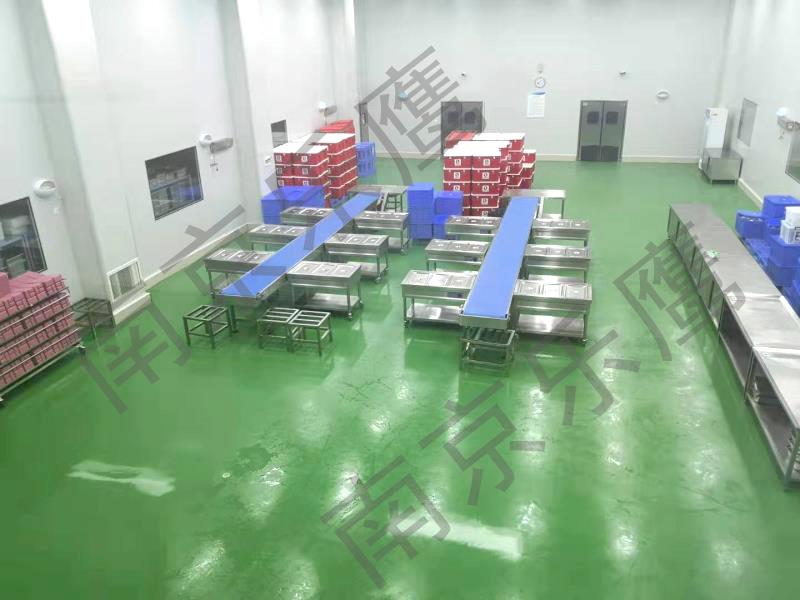 【南京乐鹰-中央厨房】学生营养餐中央厨房项目系列之武汉绿味轩