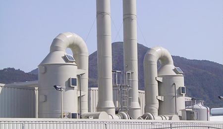 喷淋塔废气净化解决方案
