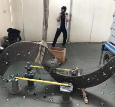 污水处理设备风机叶轮三维扫描