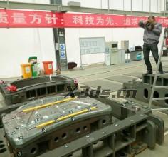 汽车覆盖件模具三维检测
