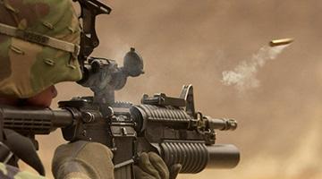 团队竞赛射击类拓展训练项目:团队射击
