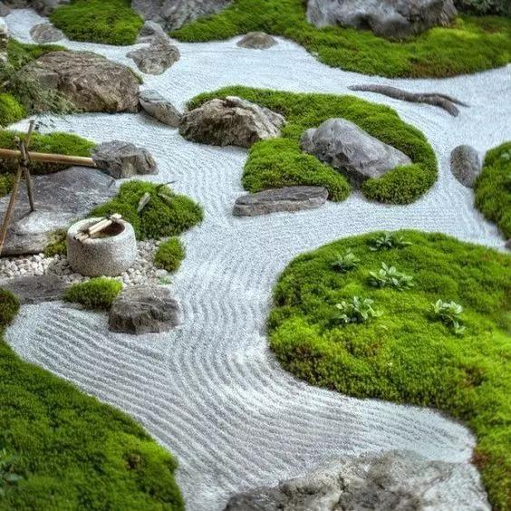 庭院景观中枯山水的前世今生,读懂了你再用