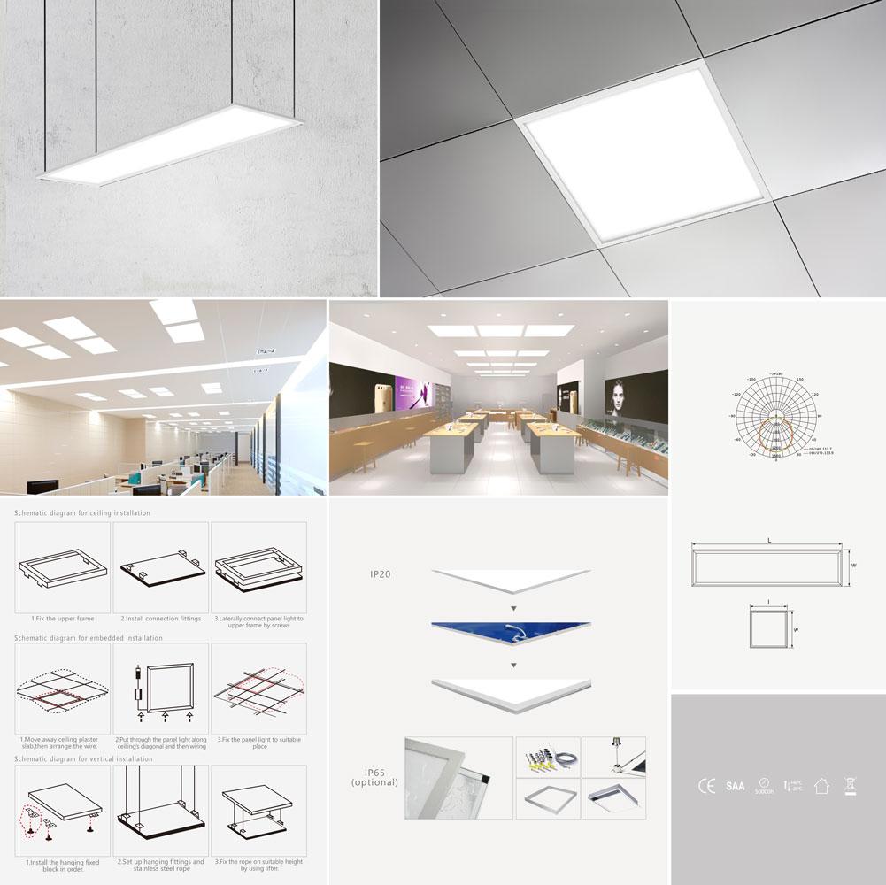 Panel Light K60264/K60265/K60266