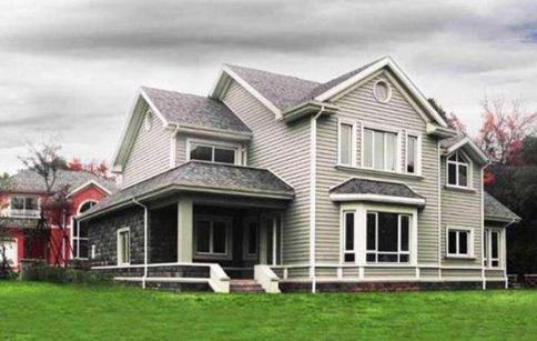 轻钢房屋外墙配色怎么搭配好看?