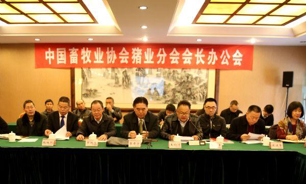 巨星农牧总经理唐春祥出席中畜协会长办公会