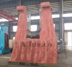 CNC hydraulic die forging hammer three-dimensional inspection