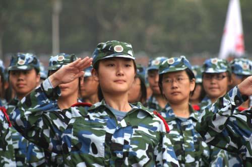 军事训练项目:军礼