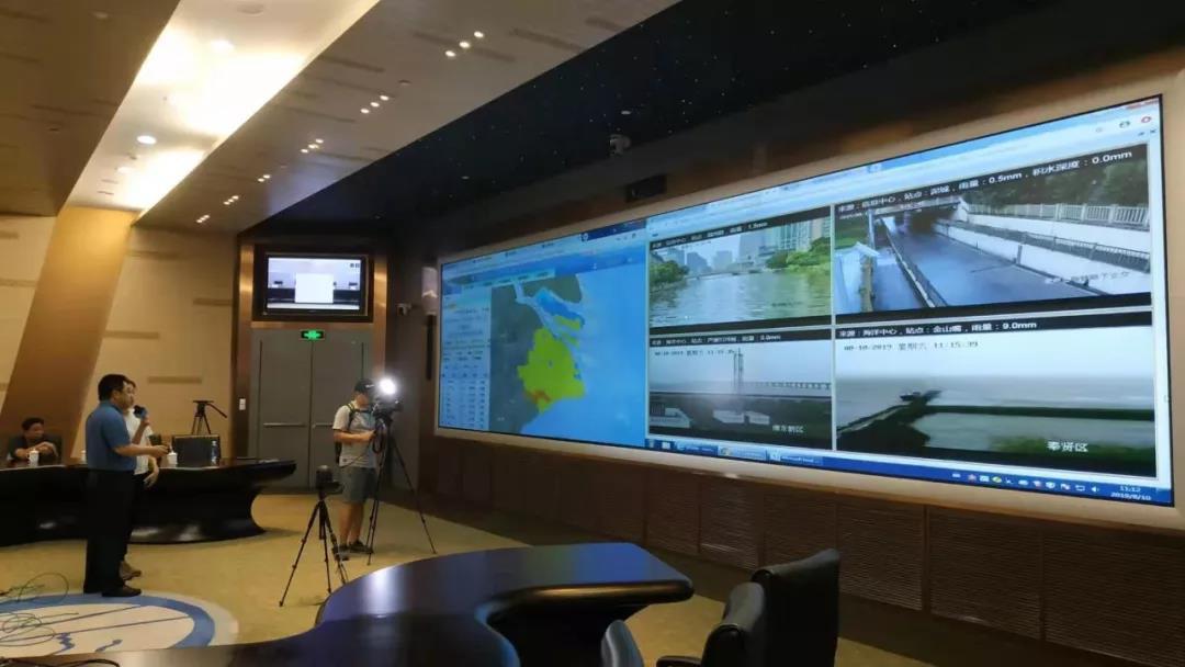 """应战台风""""利奇马"""",海康威视以科技助力防汛"""