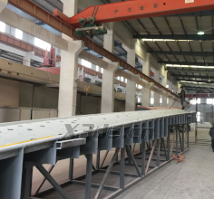 25 meter wind power blade mold three-dimensional measurement case