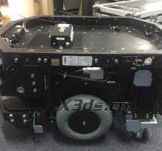 Robot base 3D scanning case