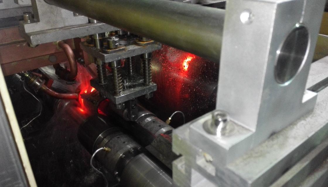 汽车防撞梁管热处理生产线