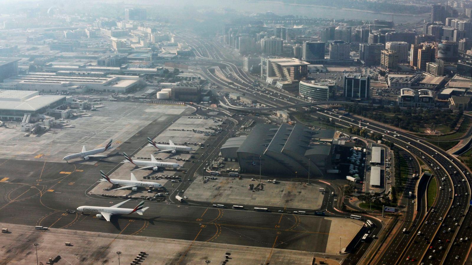 以迪拜为全球航空货运的轴心