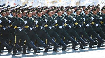 军事训练项目:队列训练
