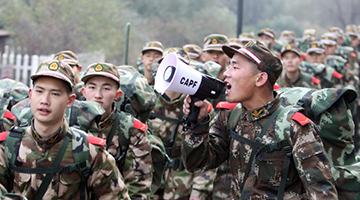 軍事訓練項目:拉練