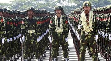 军事训练项目:跨立