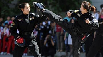 军事训练项目:军体拳