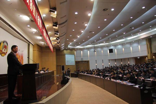 唐光跃董事长在省政协十一届四次常委会作大会发言