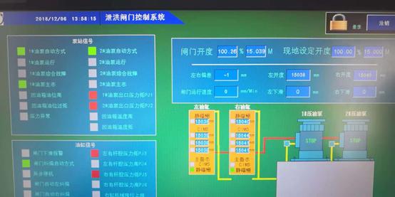 静磁栅支臂行程传感器应用于二滩电站泄洪闸弧形门开度仪改造