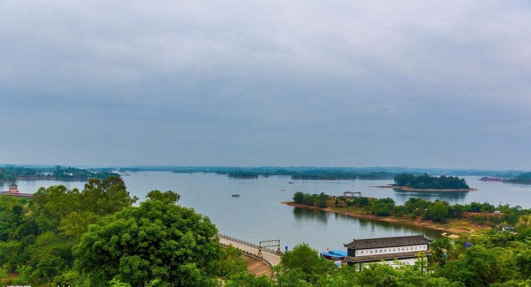 简阳三岔湖风景区