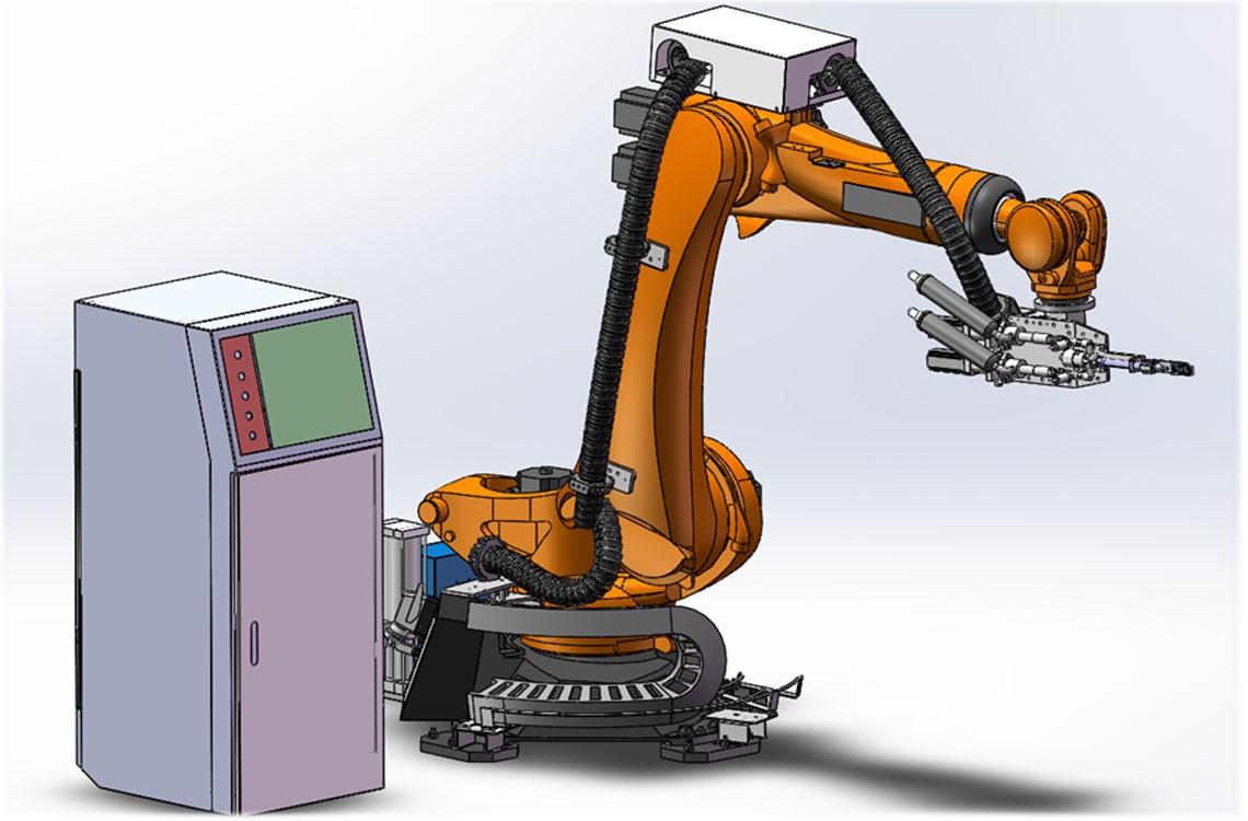 机械臂涂胶机器人