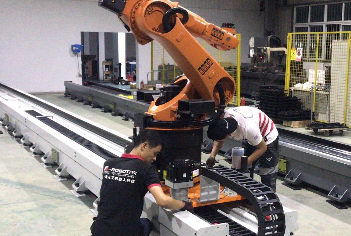 ARM800机器人第七轴――库卡机器人第七轴