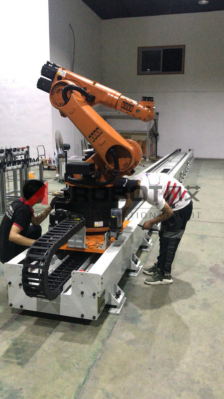 ARM800机器人第七轴——库卡机器人第七轴
