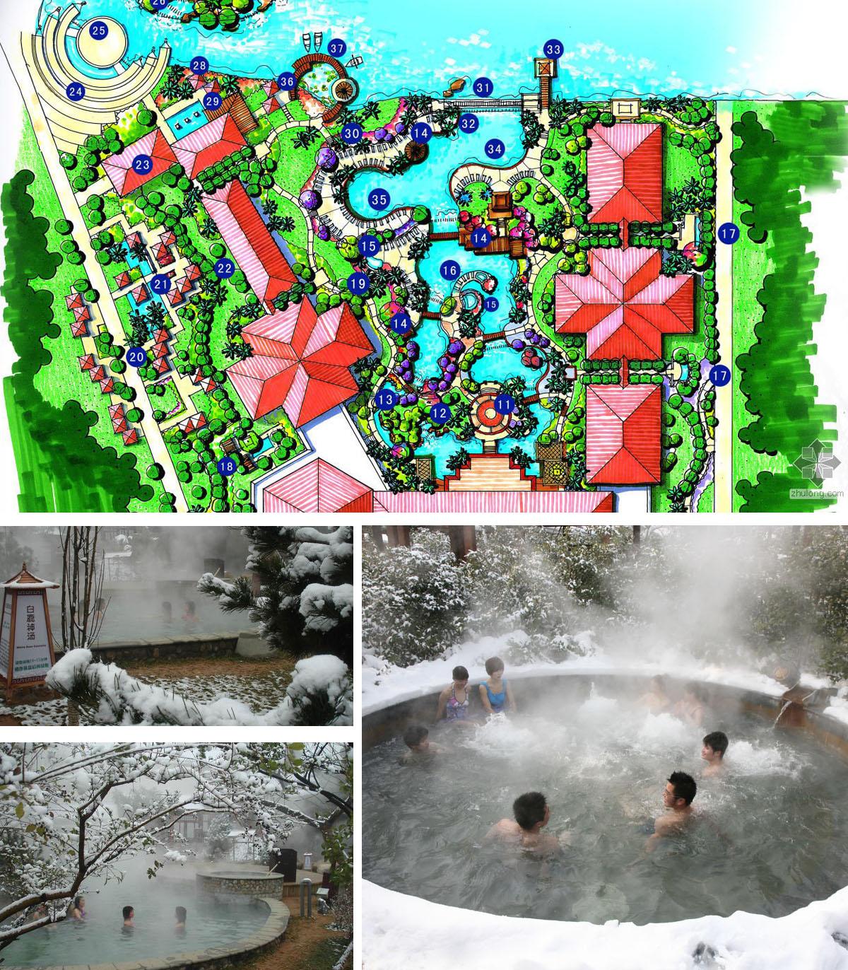 湖北京山天然温泉国际旅游度假村