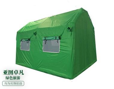 绿色旅游充气帐篷