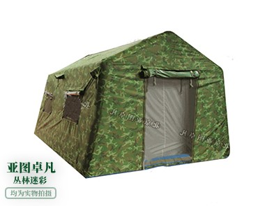 丛林迷彩充气帐篷