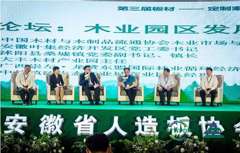 The Third Panel-Customized Home Green Ecological Chain Development Forum Held in LuAn, Anhui Province